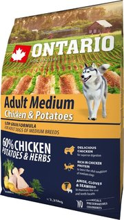 Ontario Adult Medium Chicken/Potatoes фото