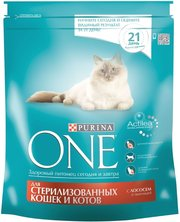 Purina ONE Sterilized Salmon фото